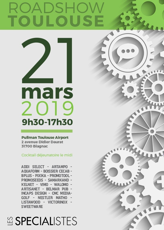 INVITATION ROAD SHOW TOULOUSE 21 MARS