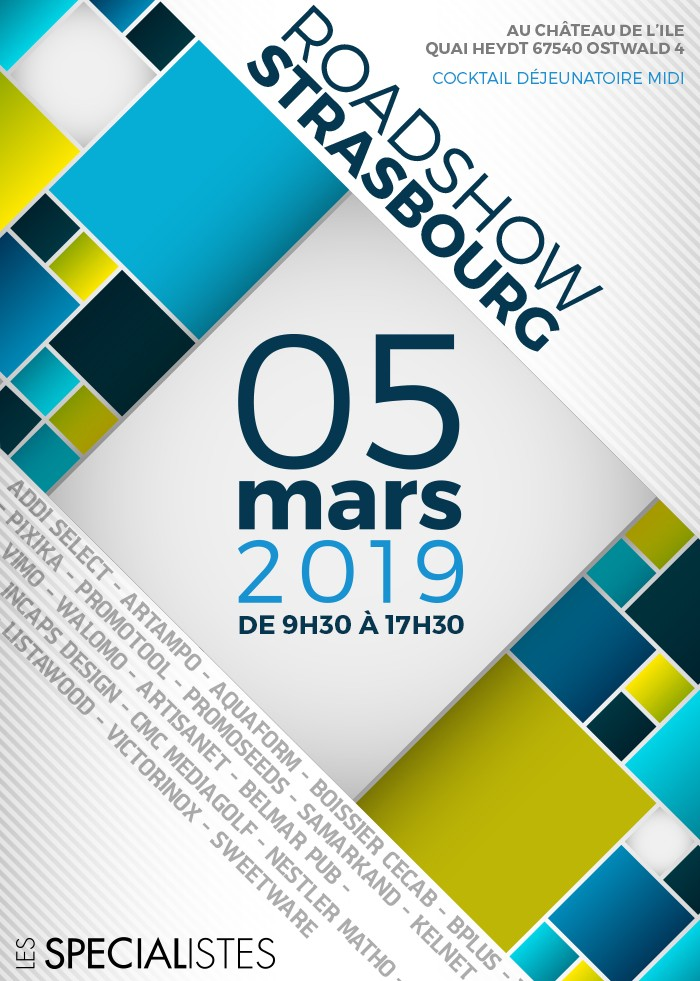 INVITATION ROAD SHOW STRASBOURG 2019